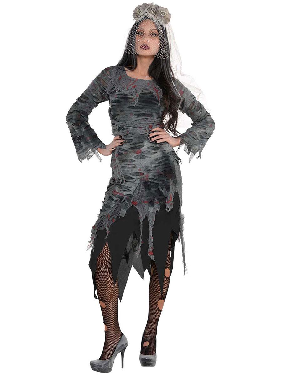 Ladies Zombie Dress 847435 55 Fancy Dress Ball
