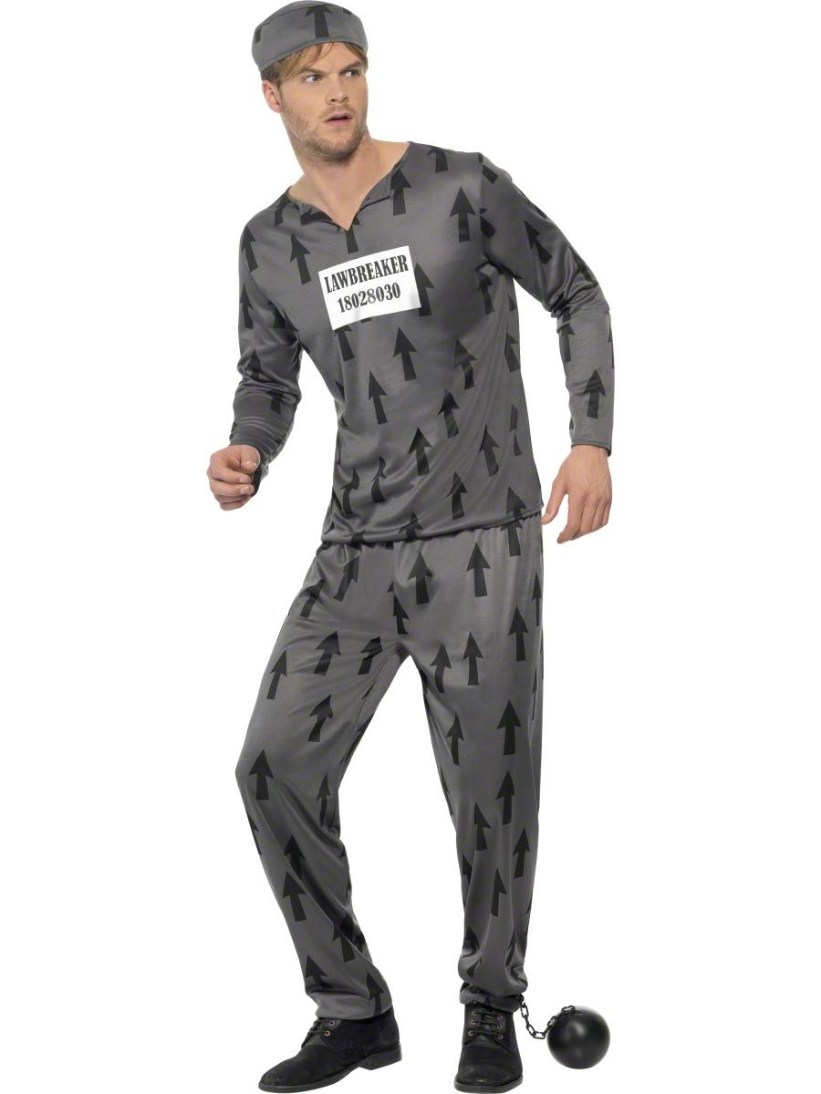 2efa4fa5d5 Adult Lawbreaker Convict Costume · Adult Lawbreaker Convict Costume - Mens  Police Fancy Dress · £13.99 · Adult Fever Role Play Cop Costume