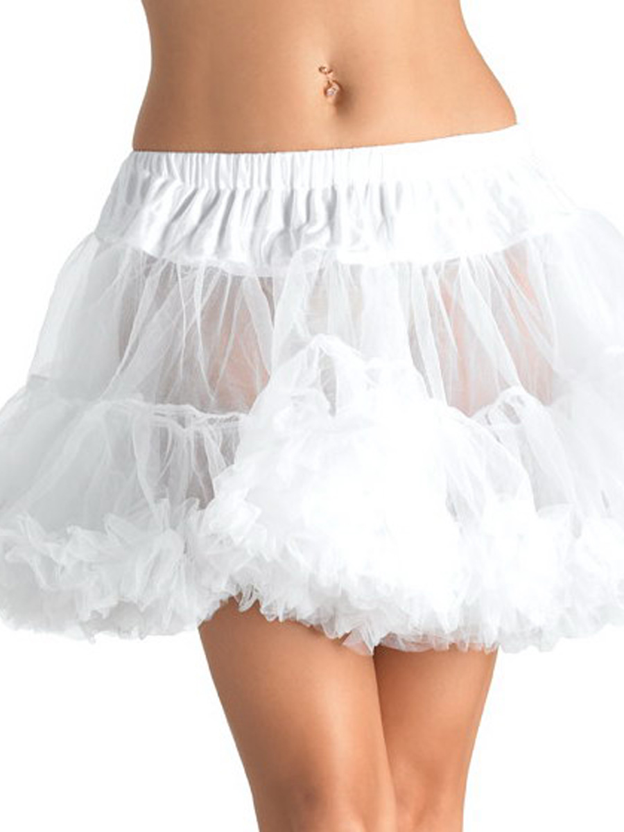 Layered Tulle Petticoat Various Colours 8990 Fancy
