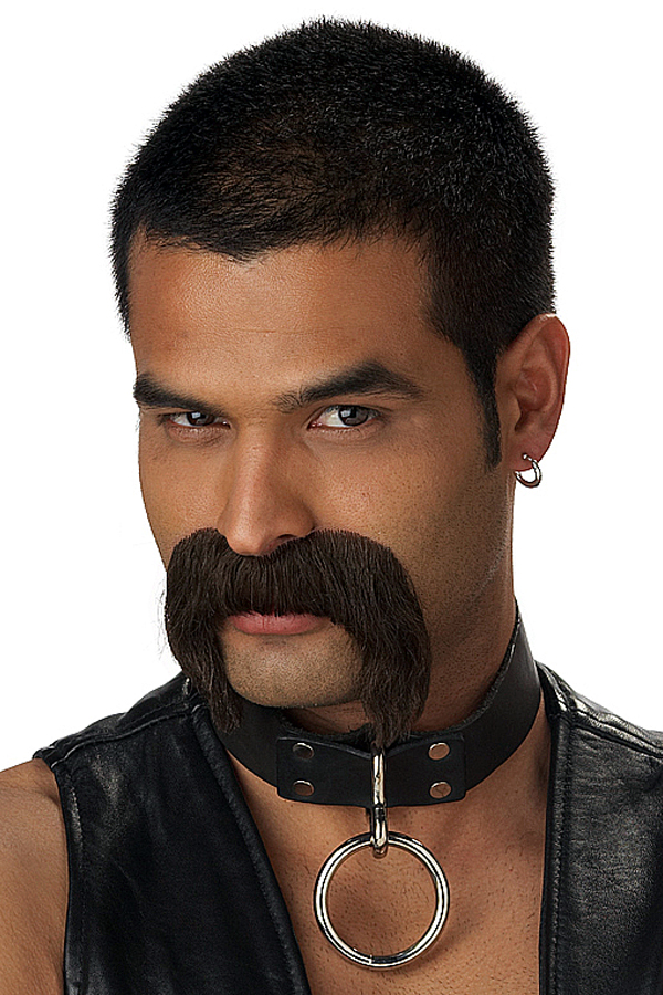 Home gt wigs beards amp moustaches gt beards amp moustache gt leather daddy