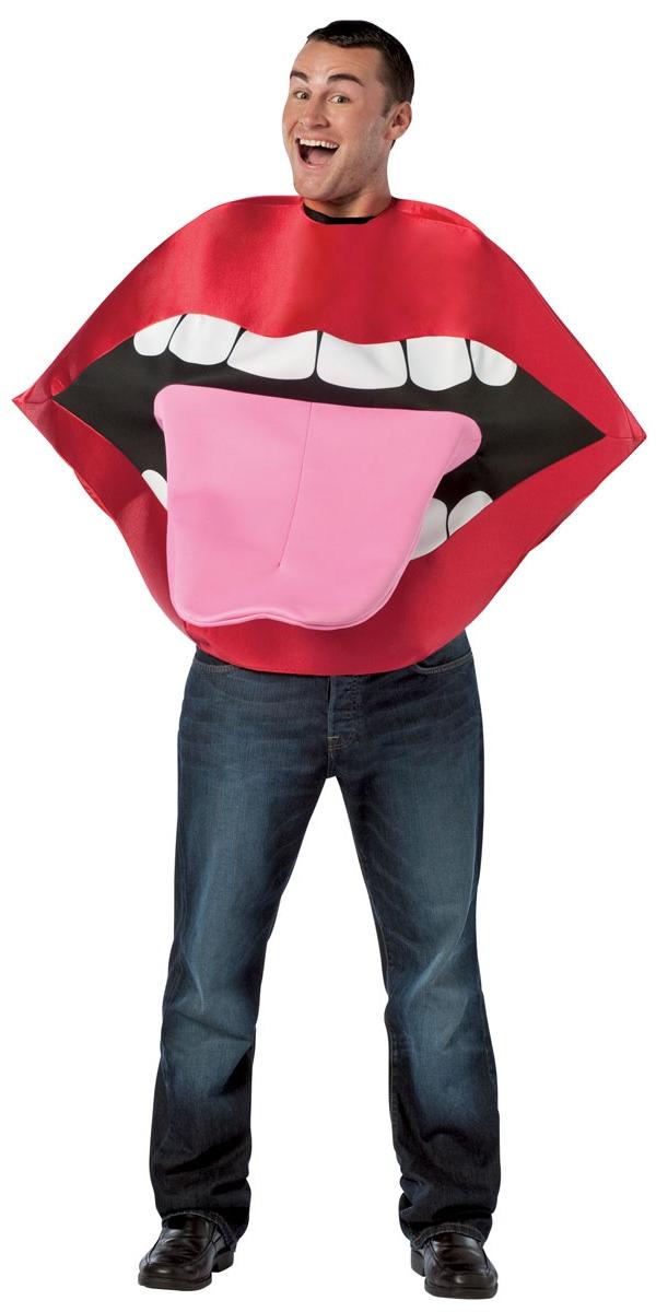 Adult Lips Amp Tongue Costume 4007267 Fancy Dress Ball