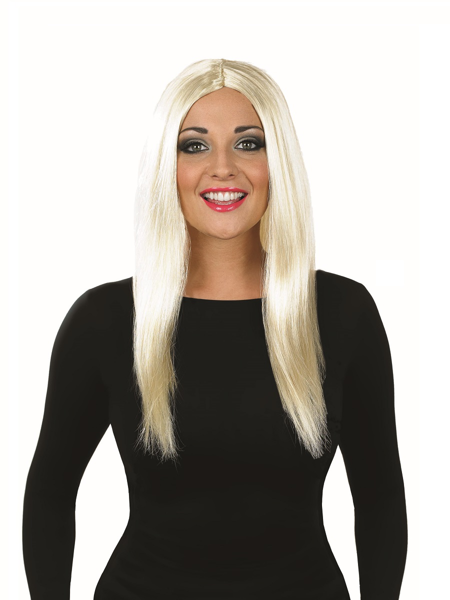 Long Silver Wig Halloween