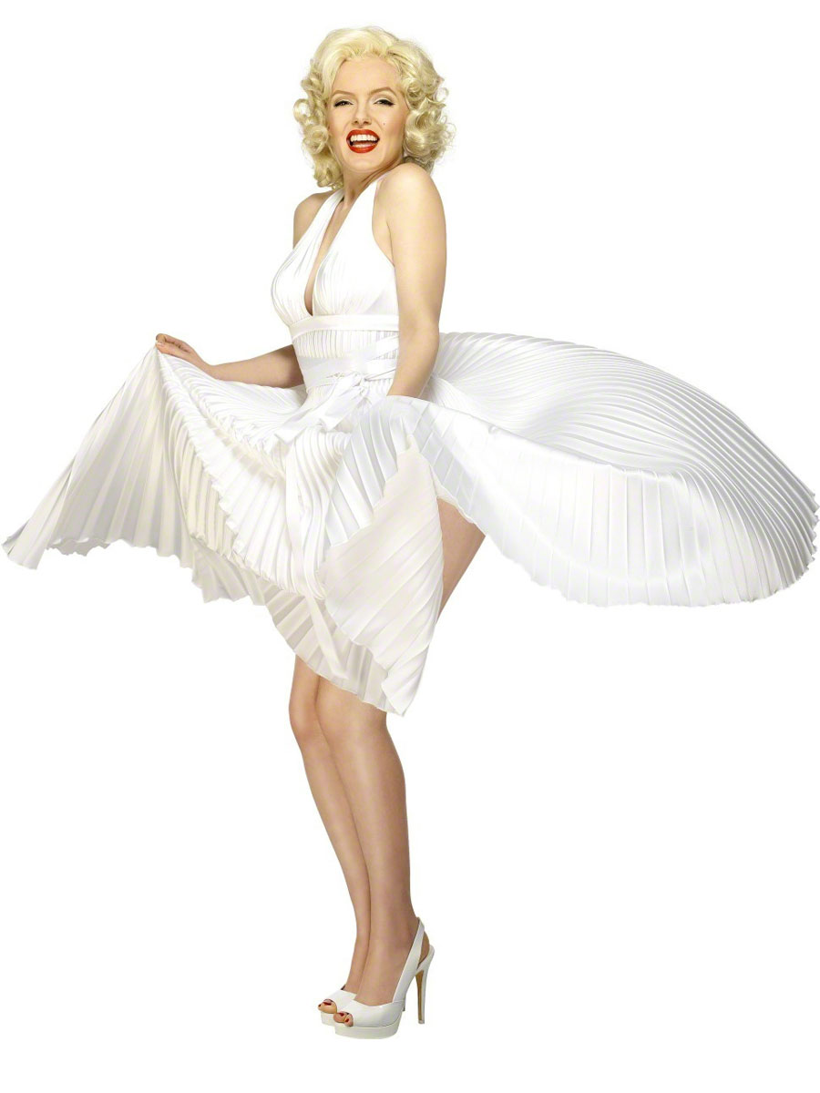 adult marilyn monroe costume 30355 fancy dress ball. Black Bedroom Furniture Sets. Home Design Ideas