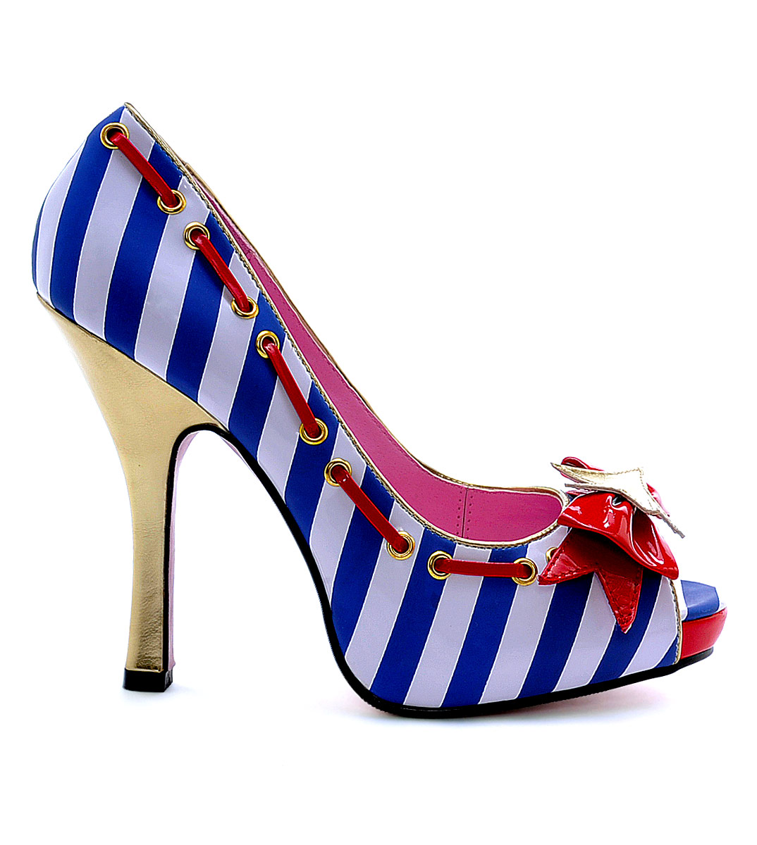 Home > Shoes > Ladies Shoes > Marina Peep Toe Sailor Shoe