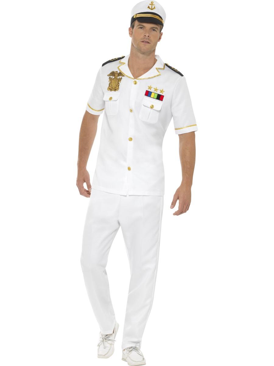 Mens Captain Costume - 48062
