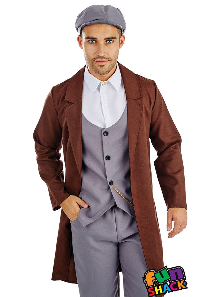 Mens Peaked Cap Gangster Costume  sc 1 st  Fancy Dress Ball & Gangster Fancy Dress Gangster Costumes | Fancy Dress Ball
