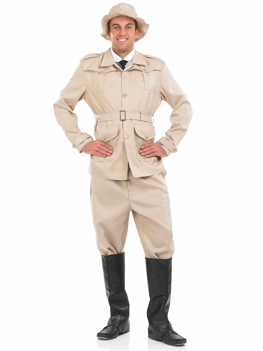 gt  Funny Costumes  gt  Novelty Costumes  gt  Mens Safari Explorer CostumeSafari Outfit For Kids