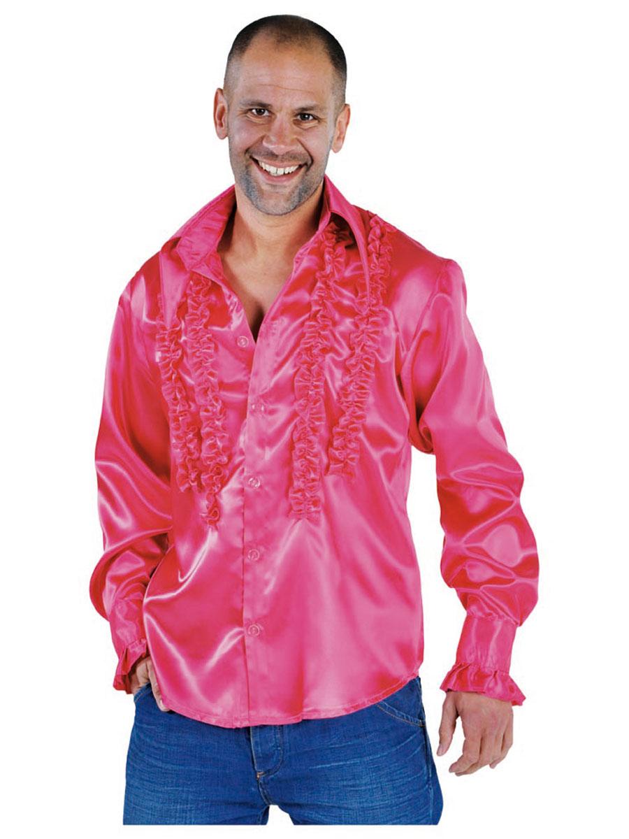 70 39 s fancy dress shirts flares fancy dress ball for Mens pink shirts uk