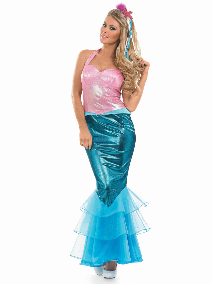 Adult Mermaid Costume · VIEW FULL IMAGE  sc 1 st  Fancy Dress Ball & Adult Mermaid Costume - FS3273 - Fancy Dress Ball