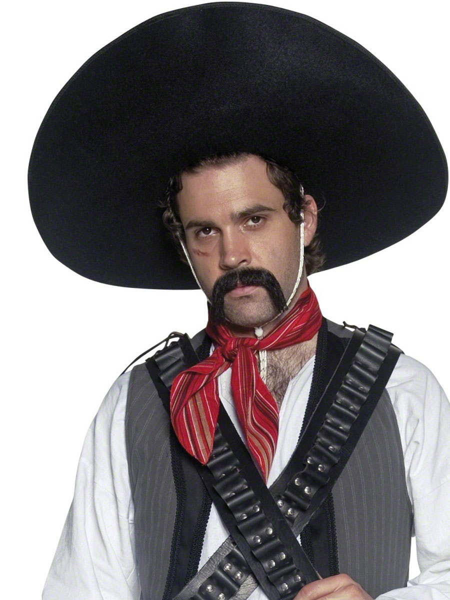 Mexican Bandit Sombrero 32966 Fancy Dress Ball