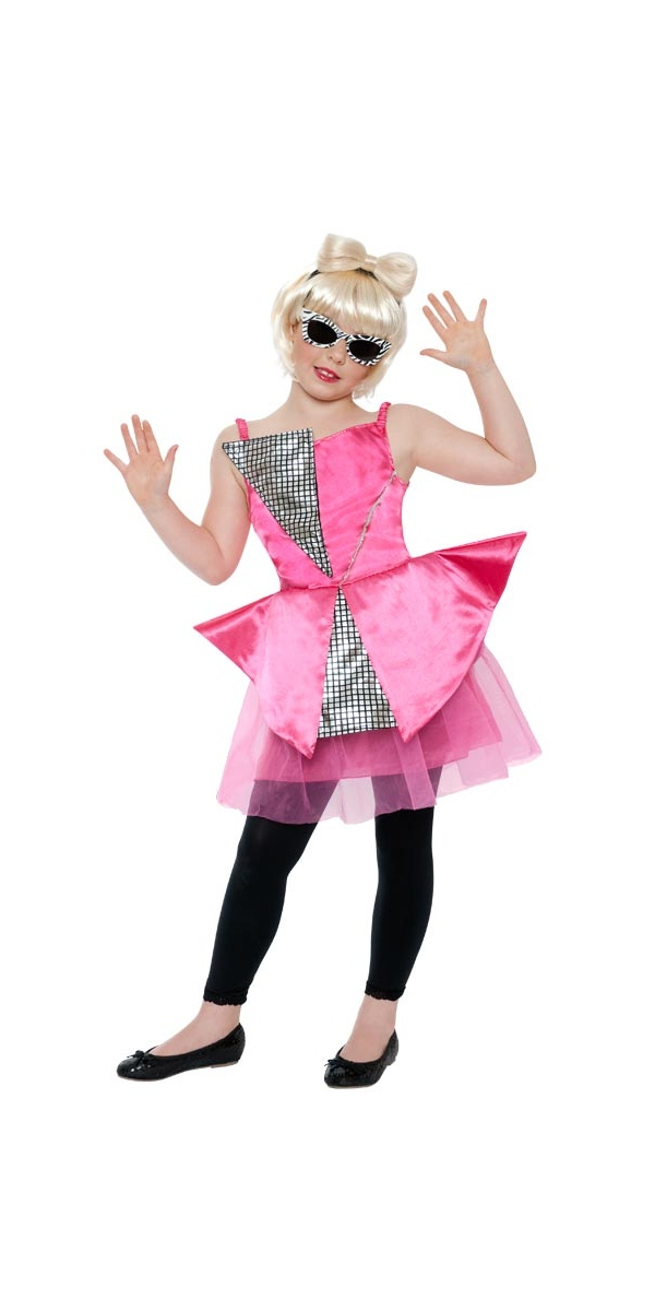 child mini lady gaga costume 21901 fancy dress ball. Black Bedroom Furniture Sets. Home Design Ideas