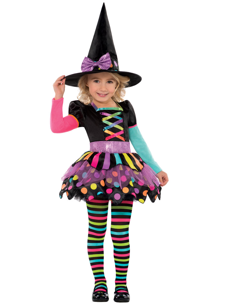 child miss matched witch costume - 996994 - fancy dress ball
