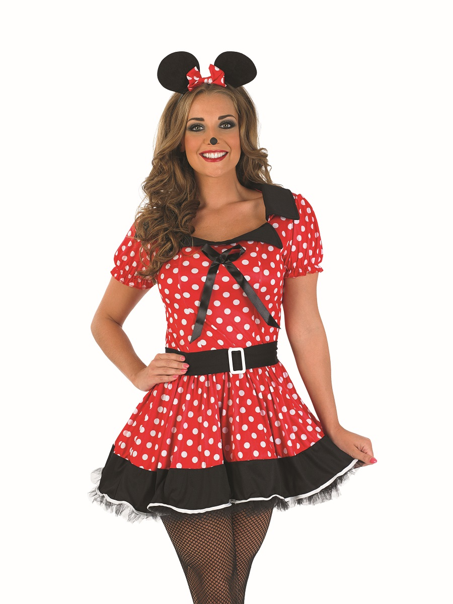 Minnie Mouse Halloween Costume Kids