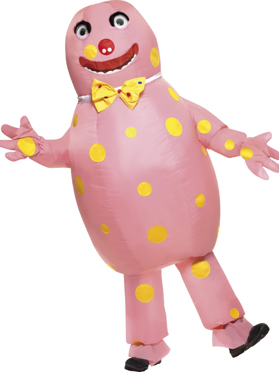 adult inflatable mr blobby costume   38054   fancy dress ball