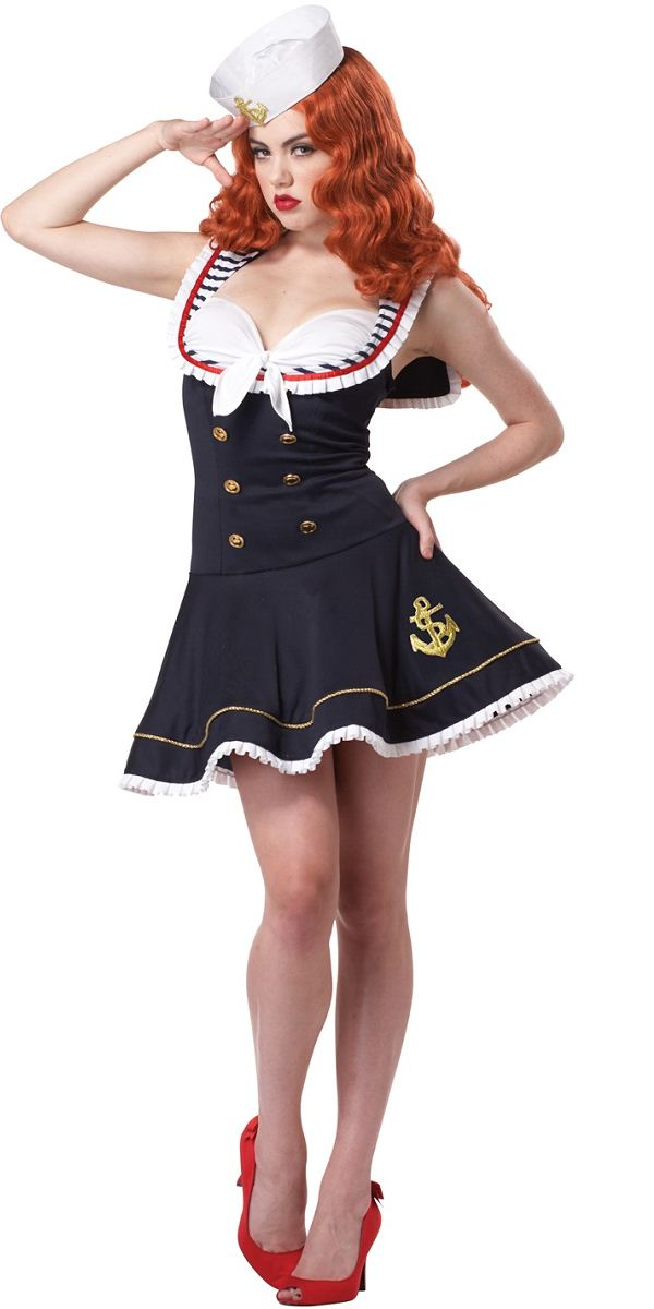 Sexy Mermaid Costumes, Sexy Sailor Halloween Costumes