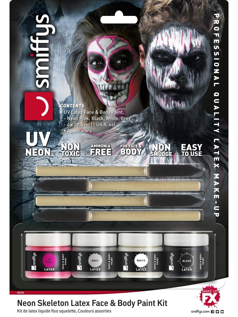 Latex Face Paint Kit