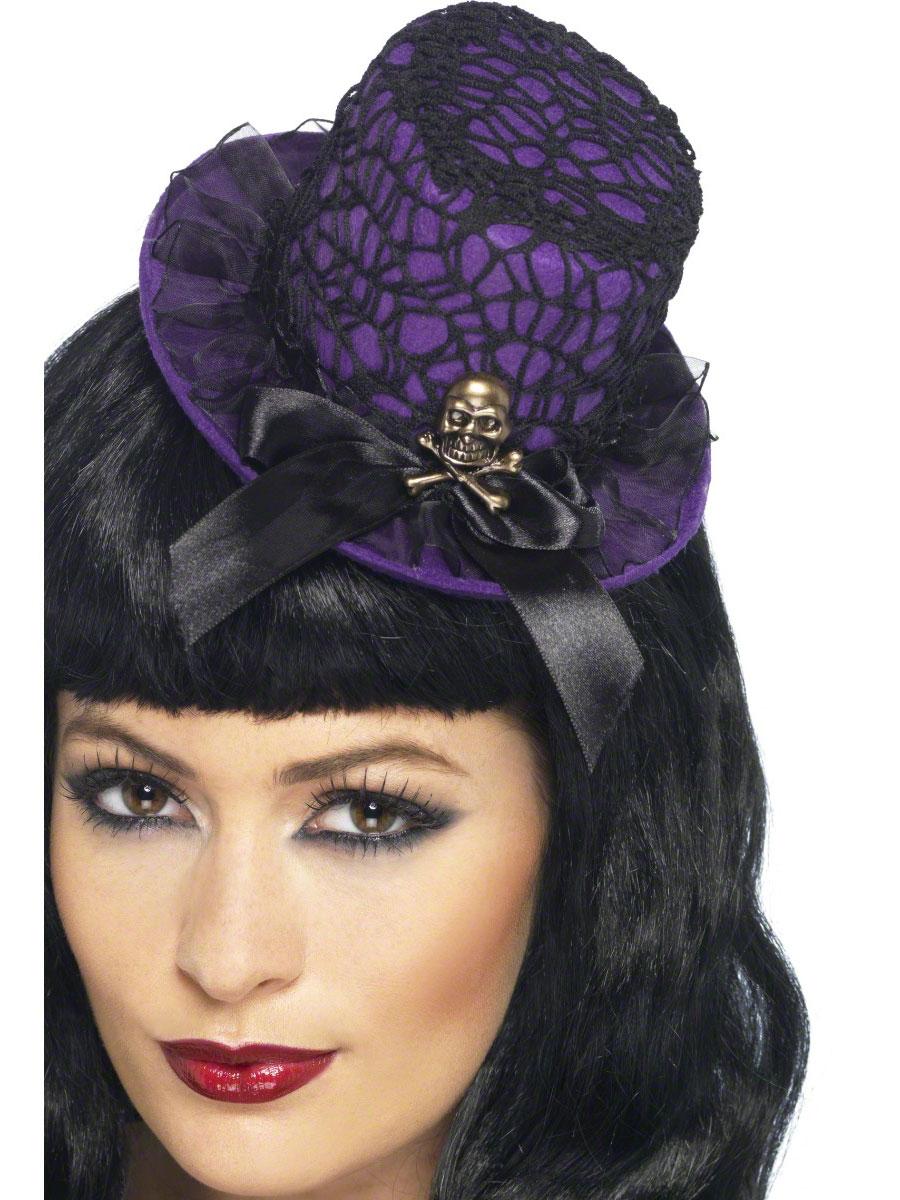 Neon Top Hat On Headband 21950 Fancy Dress Ball
