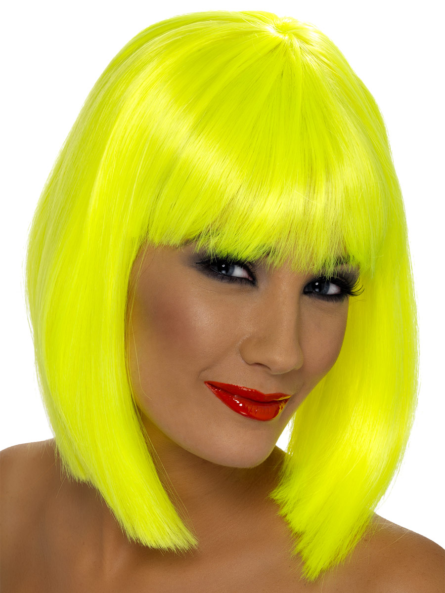 Yellow Wig 55
