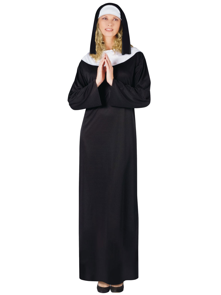 Adult Nun Costume  sc 1 st  Fancy Dress Ball & Adult Nun Costume - 9910 - Fancy Dress Ball