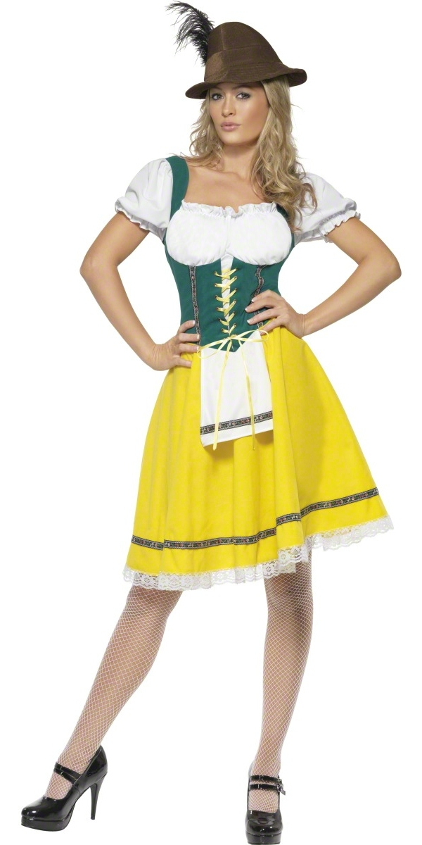 adult oktoberfest ladies bavarian costume 41160 fancy. Black Bedroom Furniture Sets. Home Design Ideas