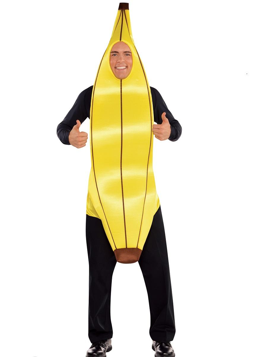 Adult Going Bananas Costume 844277 55 Fancy Dress Ball