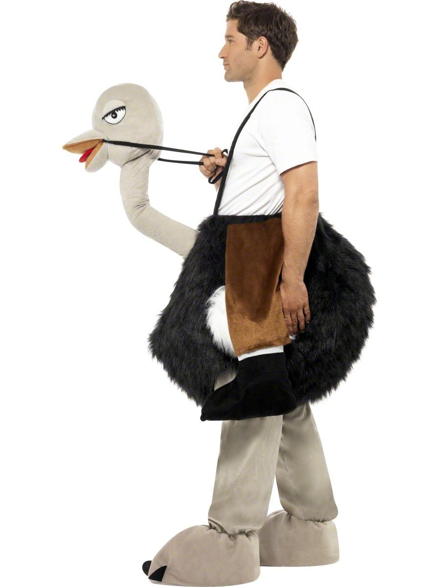adult ostrich costume 32296 fancy dress ball. Black Bedroom Furniture Sets. Home Design Ideas