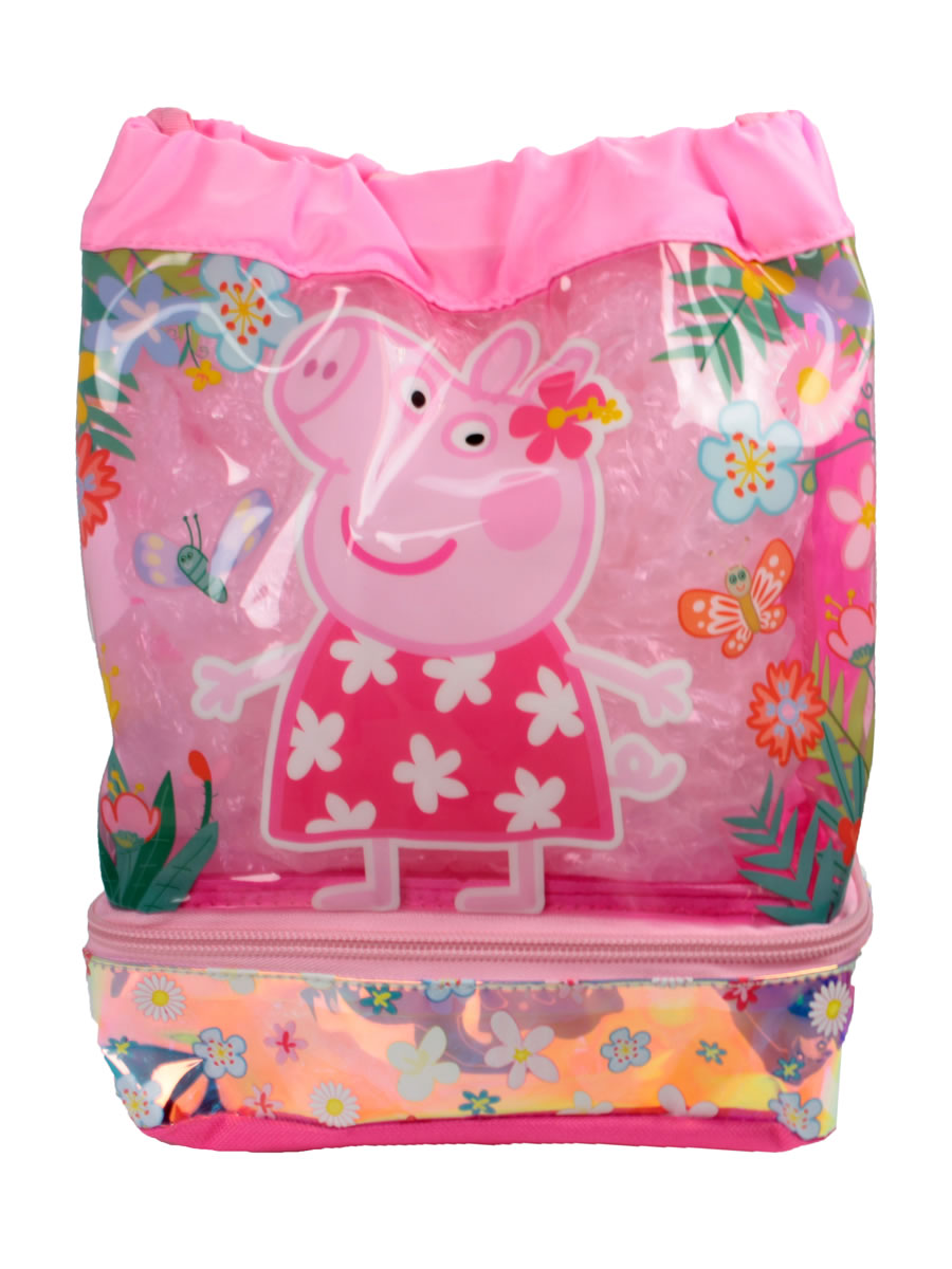 Peppa Pig Swim Duffle Bag Peppa 01864 Fancy Dress Ball