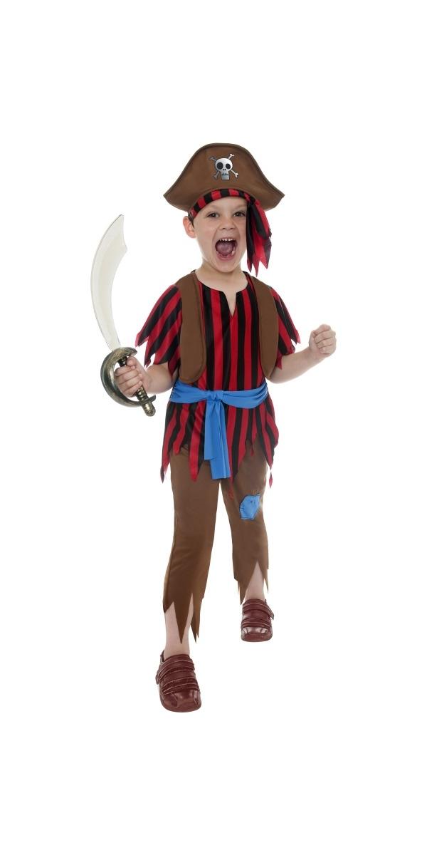 Child Pirate Boy Childrens Costume 38655 Fancy Dress Ball