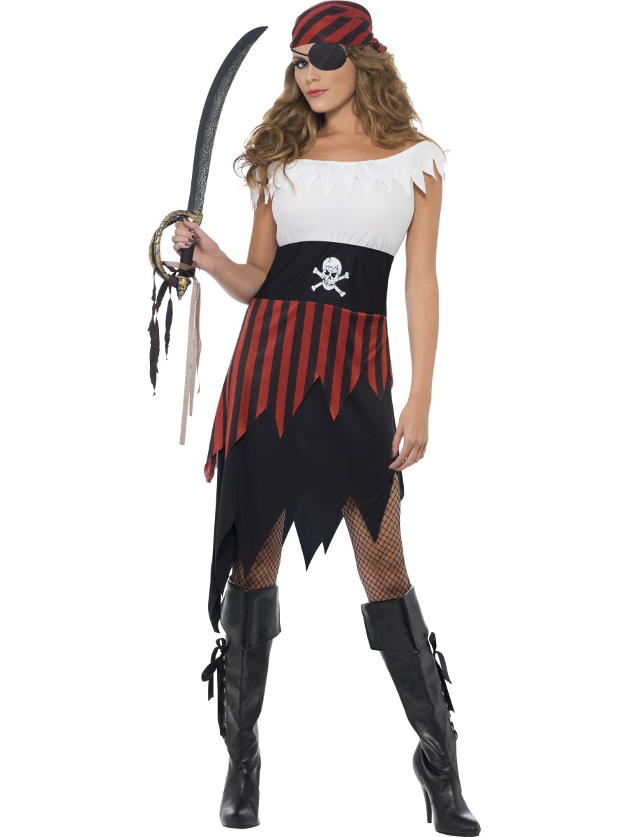 Pirate Wench Costume 30716 Fancy Dress Ball