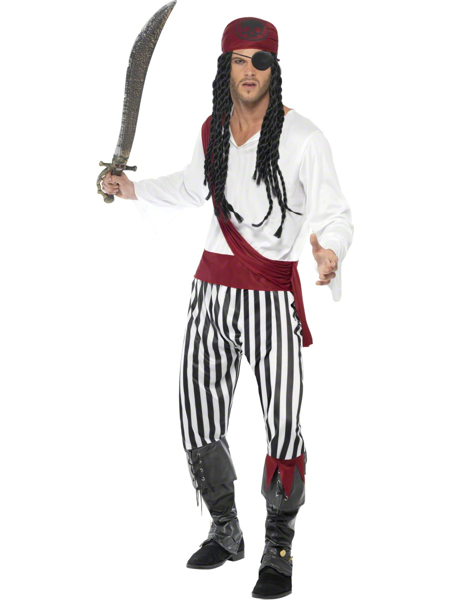 Adult Pirate Costume · VIEW FULL IMAGE  sc 1 st  Fancy Dress Ball : costume of pirates  - Germanpascual.Com