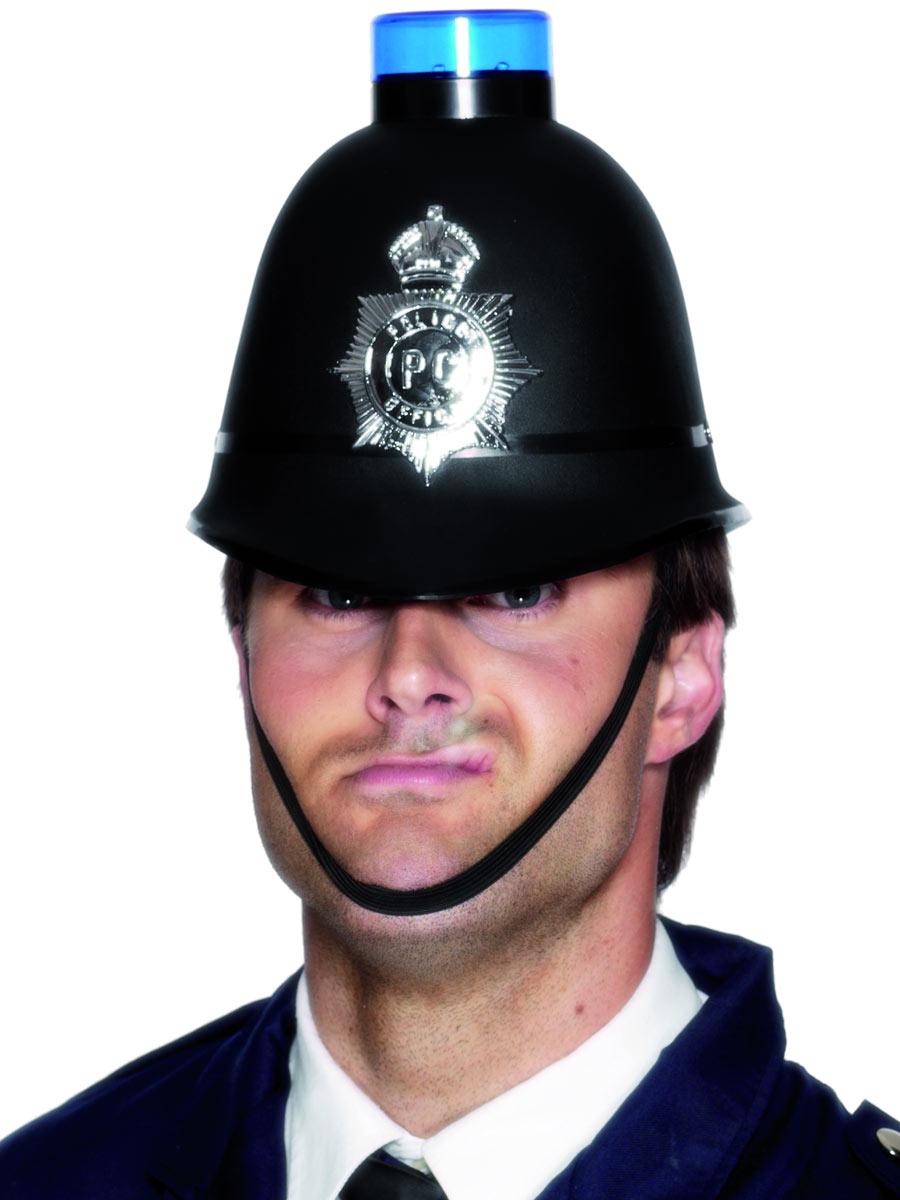 Police Helmet 23280 Fancy Dress Ball