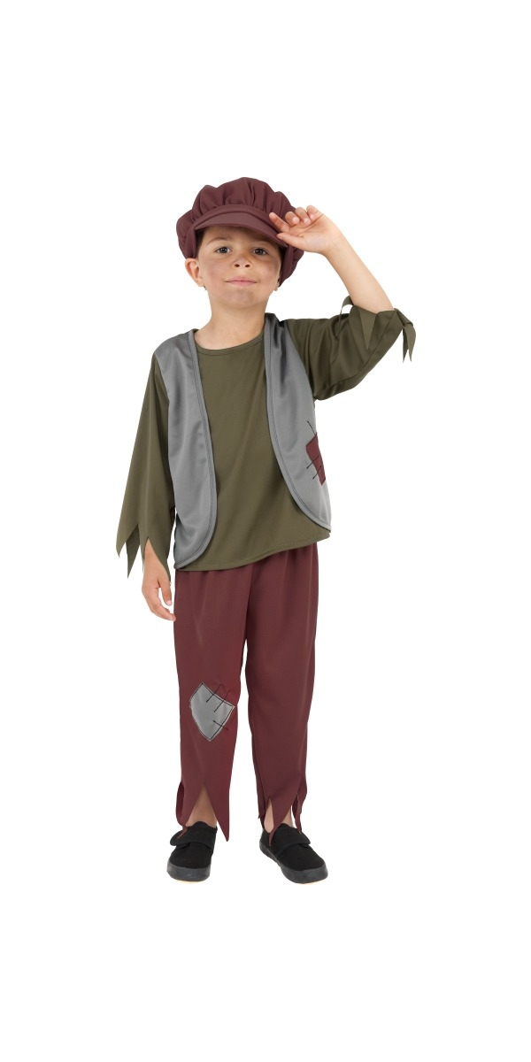 Child poor victorian boy costume 38660 fancy dress ball