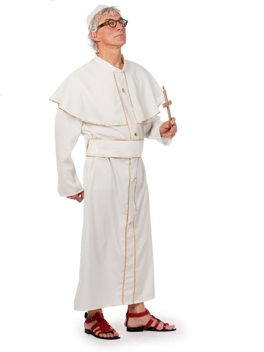 To recieve an automatic email once we have pope costume back in