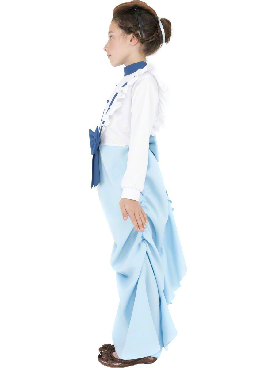 child posh victorian girl costume  38638  fancy dress ball