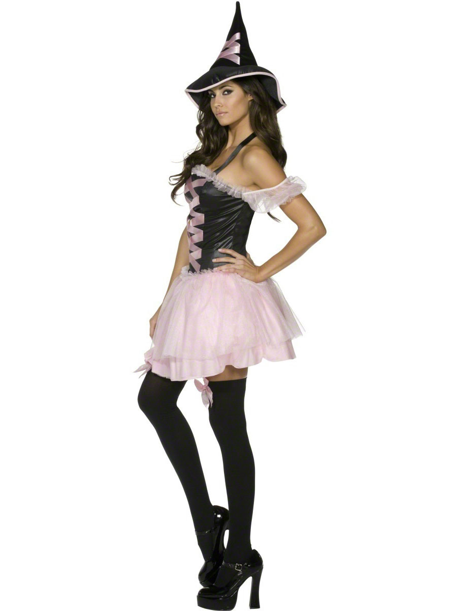 Adult pretty witch costume 32956 fancy dress ball