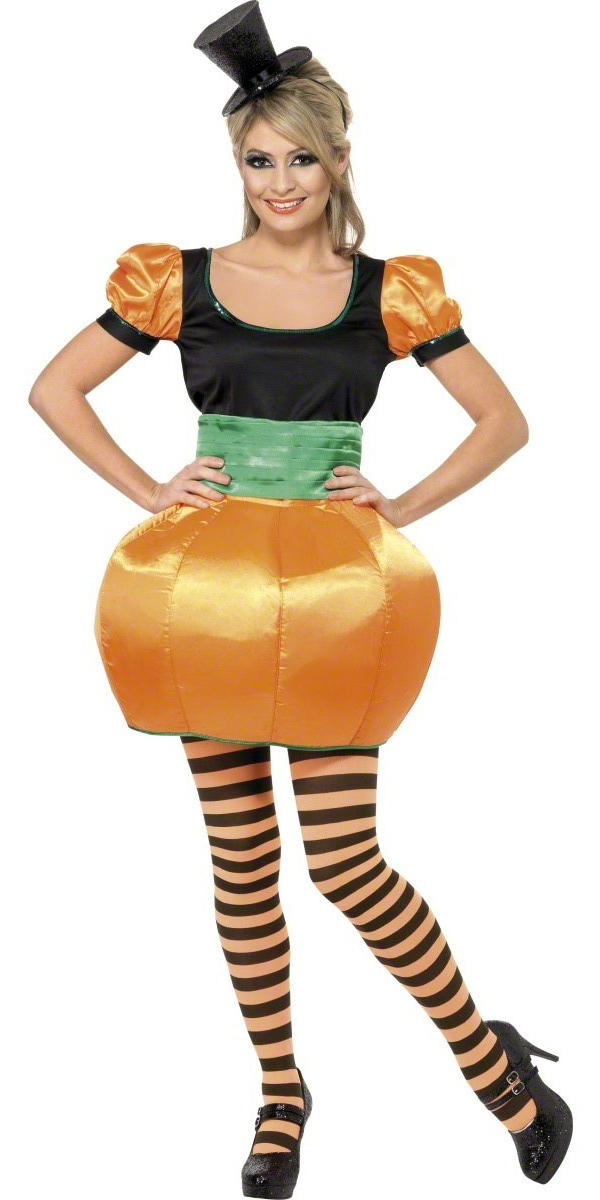 adult pumpkin costume view full image