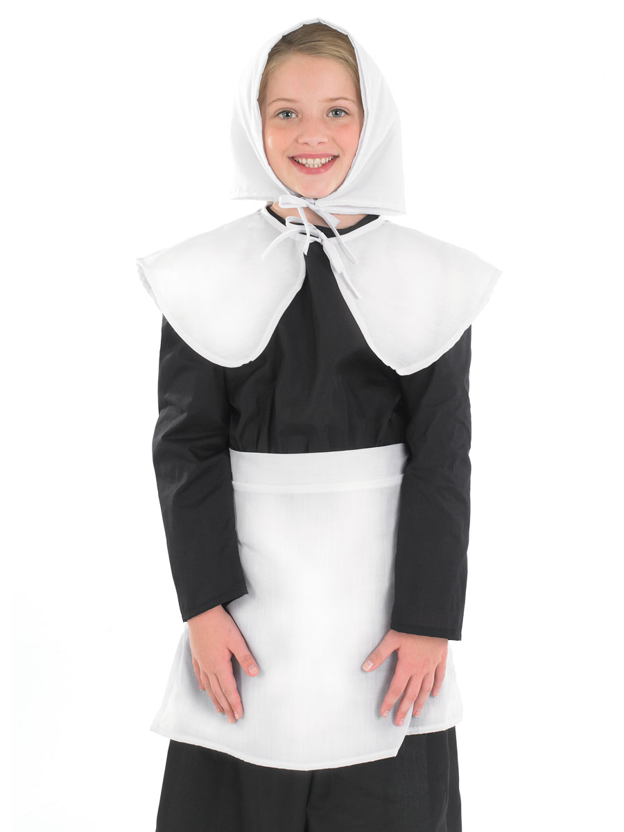 Child Puritan Girl Costume - FS3462 - Fancy Dress Ball
