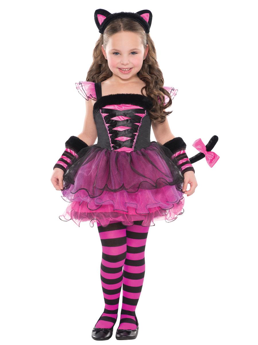 Kids Animal Costumes Childrens Animal Fancy Dress Child  sc 1 st  Meningrey & Cat Costume Girls - Meningrey