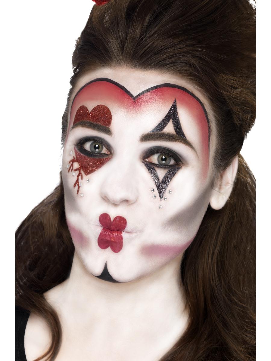 Zombie Queen Face Paint