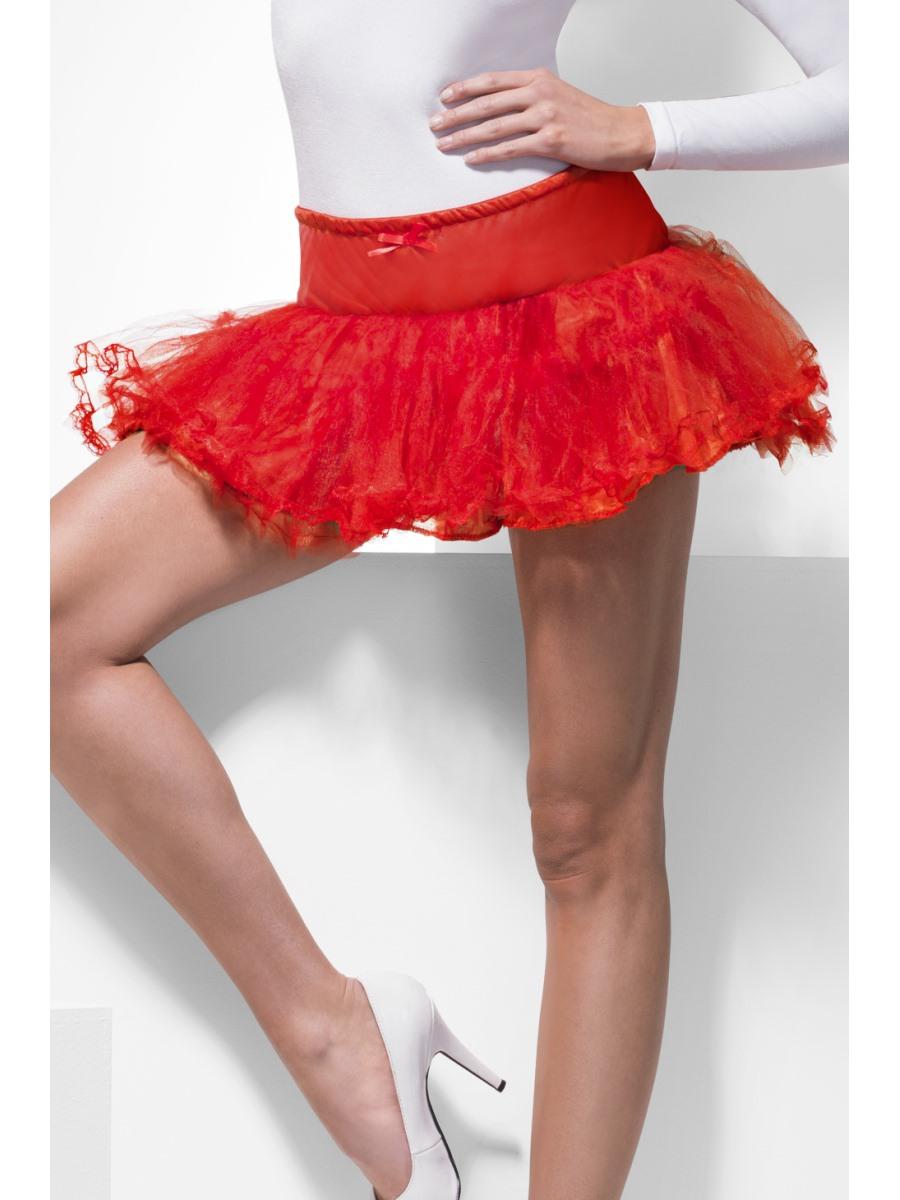 Red Tulle Petticoat 33958 Fancy Dress Ball