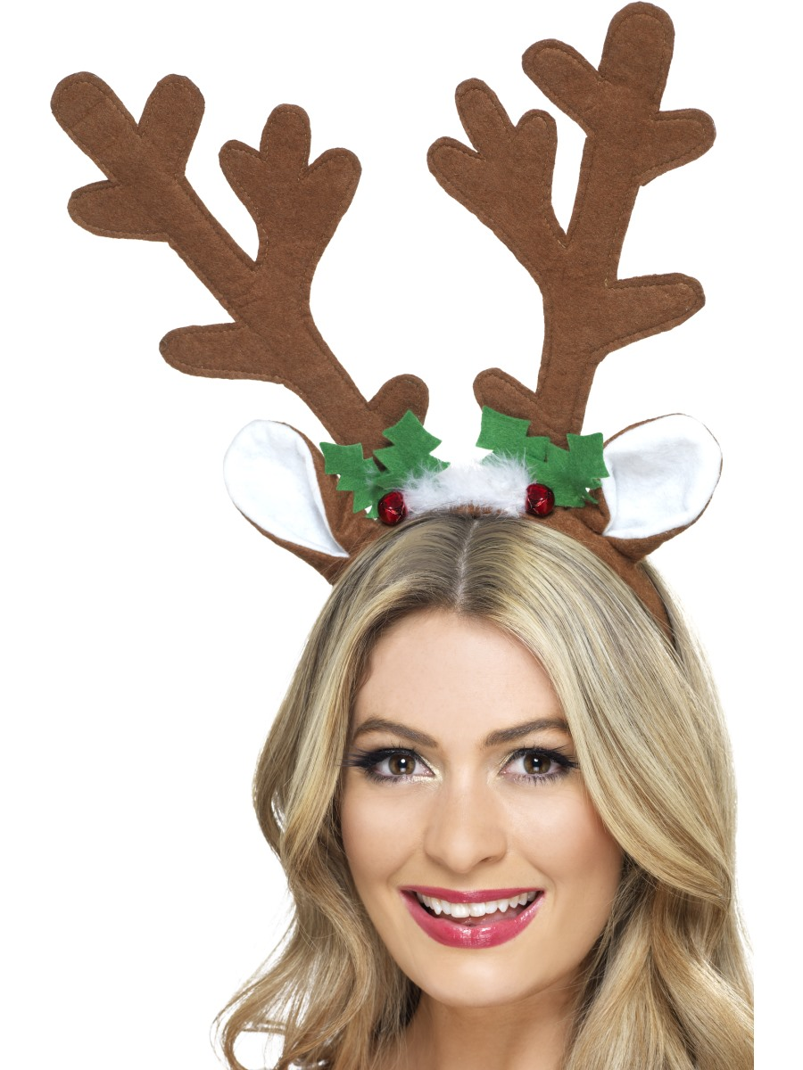 Reindeer Antlers Headband 41083 Fancy Dress Ball
