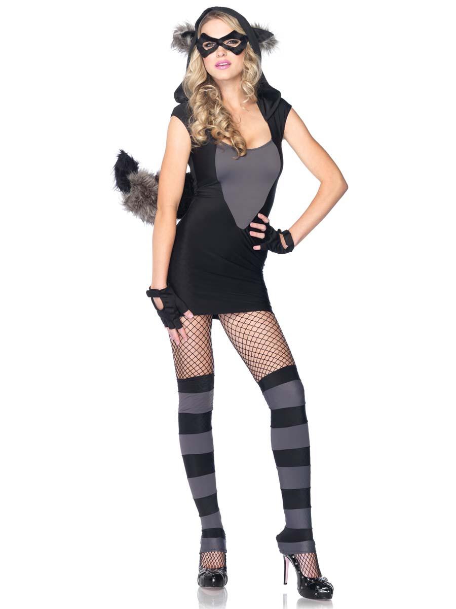 Adult Risky Rac... Raccoon Costume Men