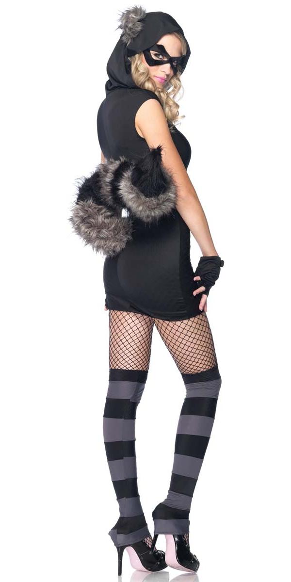 To recieve an a... Raccoon Costume Men