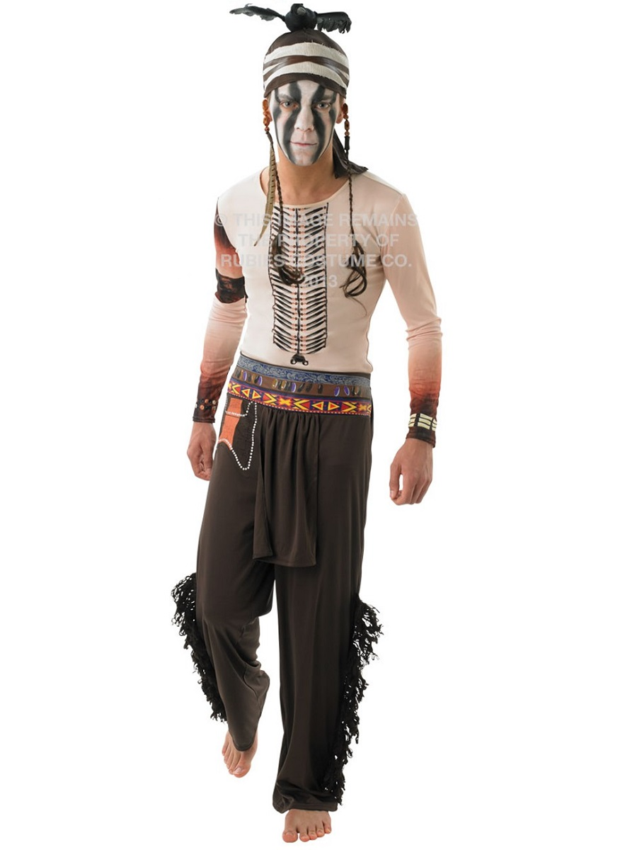 Dress  gt  Cowboy Fancy Dress  gt  Disneys The Lone Ranger Tonto CostumeLone Ranger Costume For Women