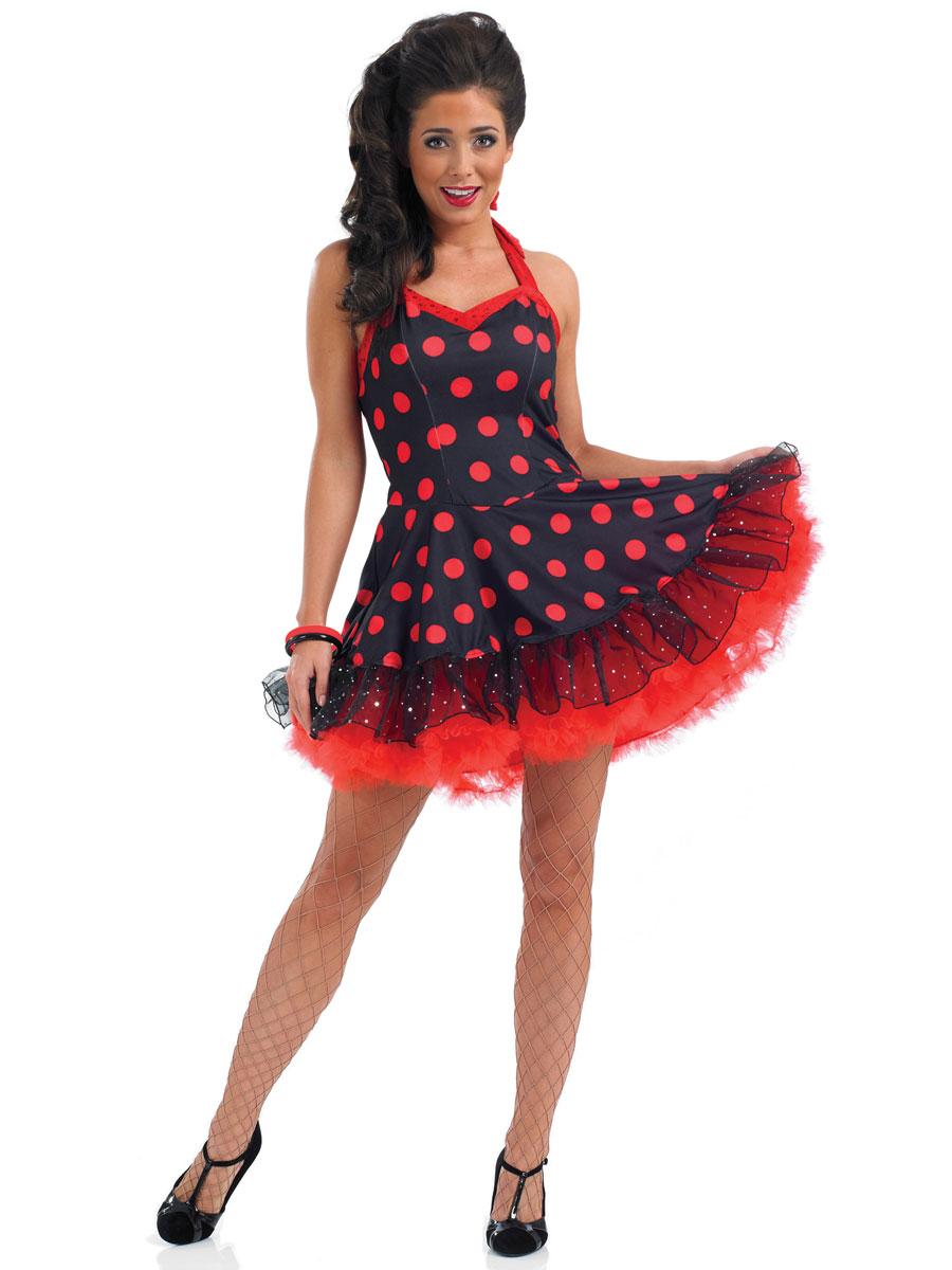 Ladies Rock 39 N 39 Roll Dress Fs2793 Fancy Dress Ball