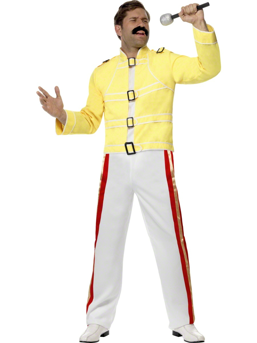 adult economy freddie mercury costume 28301 fancy dress ball. Black Bedroom Furniture Sets. Home Design Ideas