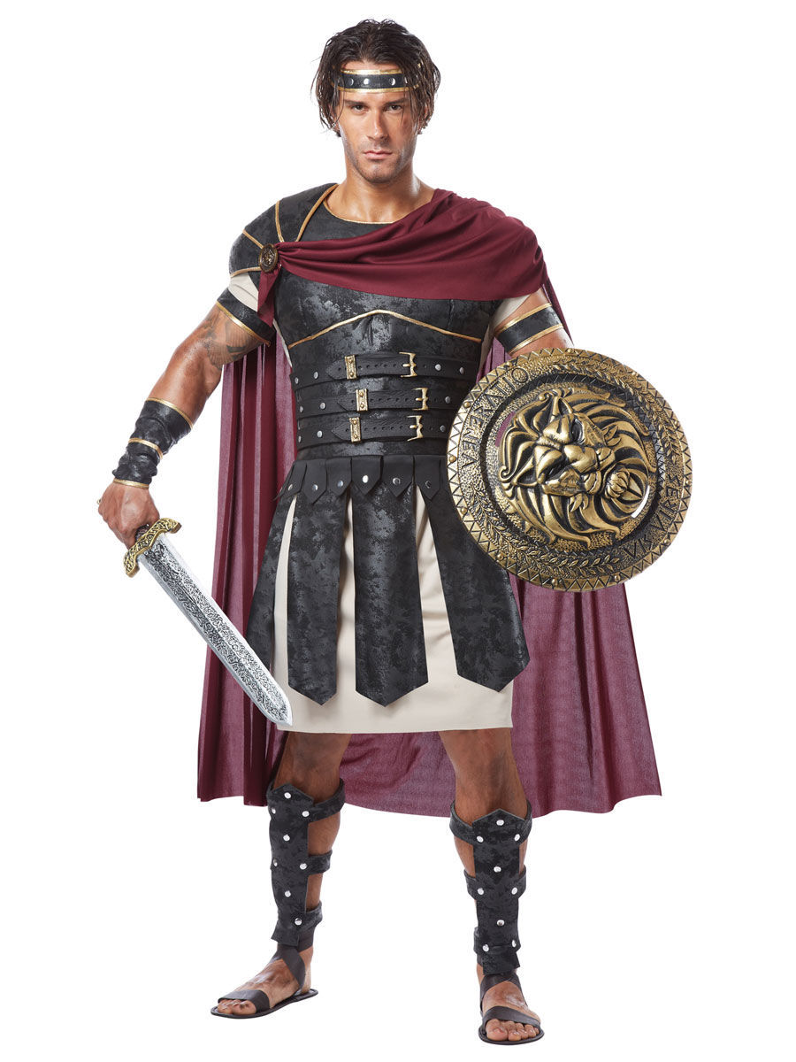 Adult Roman Gladiator Costume 01258 Fancy Dress Ball