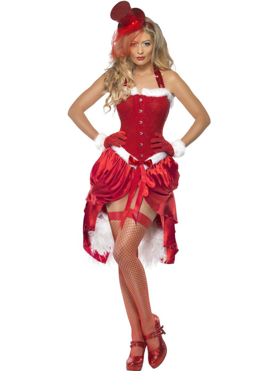 Adult Santa Baby Burlesque Costume 23055 Fancy Dress Ball