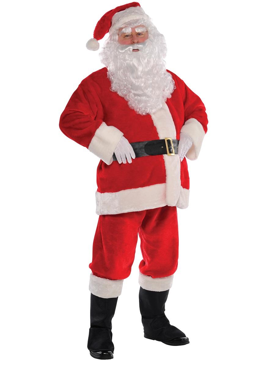 Adult classic santa costume fancy dress ball