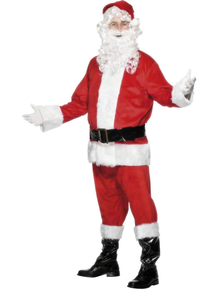 Adult Deluxe Santa Costume · VIEW FULL IMAGE